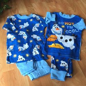 Olaf Disney Frozen Pajamas